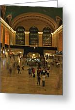 Grand Central Terminal Greeting Card by Jordan  Drapeau