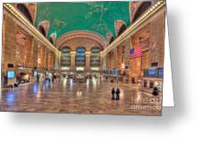 Grand Central Terminal V Greeting Card by Clarence Holmes
