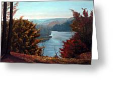 Grand River Look-out Greeting Card by Otto Werner