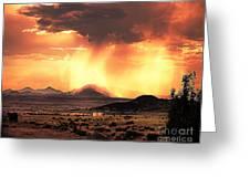 Granite Mountain Greeting Card by Arne Hansen