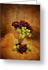 Grapes Greeting Card by Jai Johnson