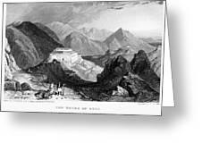 Greece: Souli, 1833 Greeting Card by Granger