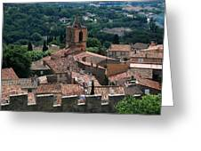 Grimaud Greeting Card by Dany  Lison