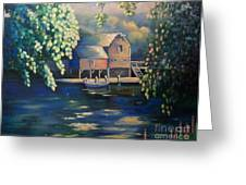 Grist Mill 2 Greeting Card by Marlene Book