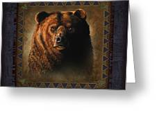Grizzly Lodge Greeting Card by JQ Licensing
