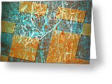 Grunge Background 6 Greeting Card by Carlos Caetano