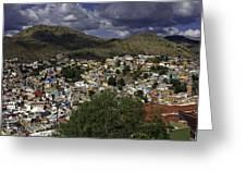 Guanajuato Vista No. 1 Greeting Card by Lynn Palmer