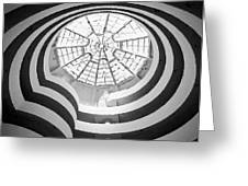 Guggenheim Museum Bw200 Greeting Card by Scott Kelley
