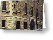 Guinness Storehouse Dublin Greeting Card by Louise Fahy