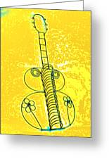 Guitar 2c Greeting Card by Mauro Celotti
