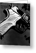Gun Number 1 Greeting Card by Giuseppe Cristiano