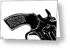 Gun Number 2 Greeting Card by Giuseppe Cristiano