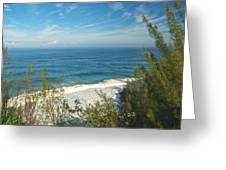 Haena State Park Overview Greeting Card by Michael Peychich