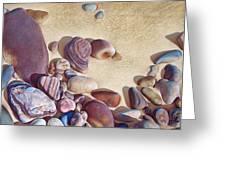 Hallett Cove's stones Greeting Card by Elena Kolotusha