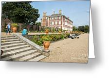 Ham House - Gardens Greeting Card by Donald Davis