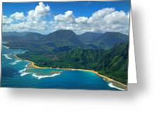 Hanalei Bay 2 Greeting Card by Ken Smith