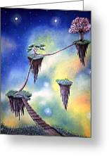 Hanging Together Greeting Card by Edwin Alverio