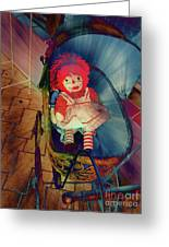 Happy Dolly Greeting Card by Susanne Van Hulst