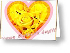 Happy Mother S Day Greeting Card by Ingrid Stiehler