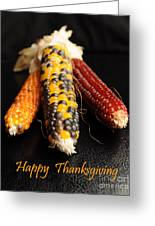 Happy Thanksgiving Card No.1 Greeting Card by Luke Moore