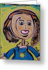 Harris Greeting Card by Mary Carol Williams