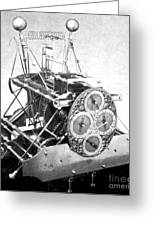 Harrisons First Marine Timekeeper Greeting Card by Photo Researchers