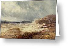 Hastings Greeting Card by Gustave de Breanski