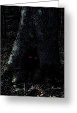 Haunted Tree Greeting Card by Walt Stoneburner