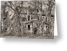 Haunting In Delmarva Greeting Card by JC Findley