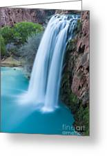 Havasu Falls I Greeting Card by Scotts Scapes