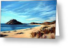 Havik Beach Greeting Card by Janet King