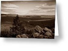 Hawk Mountain Sanctuary S Greeting Card by David Dehner