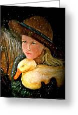 Hayden Greeting Card by Susan Elise Shiebler