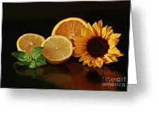 Healthy Food Matters Greeting Card by Inspired Nature Photography By Shelley Myke