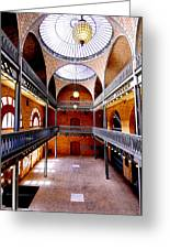 Hearst Mining Building Greeting Card by Leori Gill