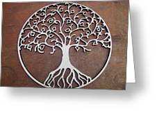 Heart-fruit Tree Greeting Card by Keith Cichlar