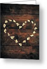 Heart Greeting Card by Joana Kruse