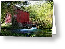 Heart Of The Ozarks Greeting Card by Lianne Schneider