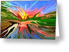 Heat Wave Greeting Card by Chris Butler