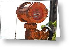 Heavy Duty Mailbox Greeting Card by Gregory Scott