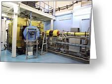 Heavy Ion Accelerator, Russia Greeting Card by Ria Novosti