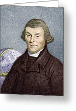 Henry Andrews, English Astronomer Greeting Card by Sheila Terry