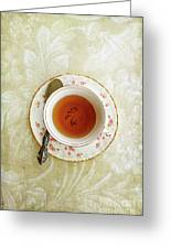 Herbal Tea Greeting Card by Stephanie Frey