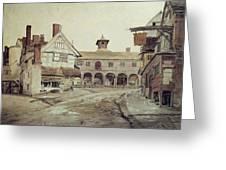 Hereford Greeting Card by Cornelius Varley