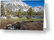 Hidden Lake Greeting Card by Kirk Williams