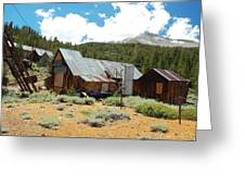 Hidden Mine In The Mountains Greeting Card by Kirk Williams