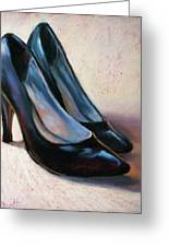 High Style II Greeting Card by Donna Shortt