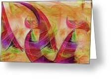 High Vibrational Greeting Card by Linda Sannuti