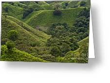 Hills Of Caizan 2 Greeting Card by Heiko Koehrer-Wagner