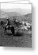 Hills Of Guanajuato - Mexico - C 1911 Greeting Card by International  Images